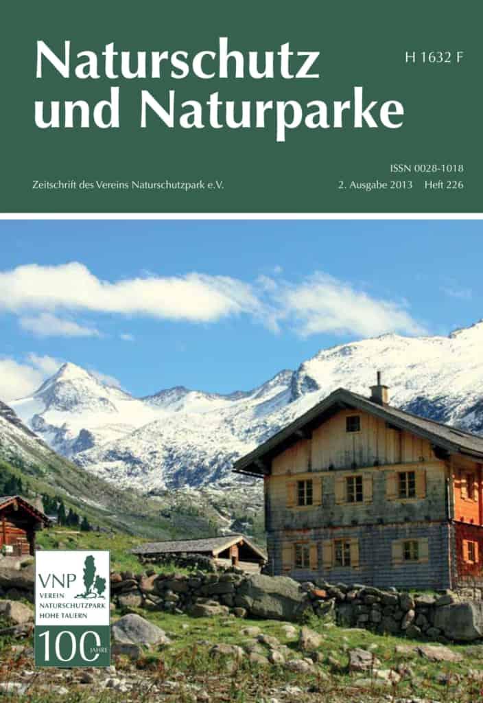 """Cover Issue 226 """"Naturschutz und Naturparke"""""""