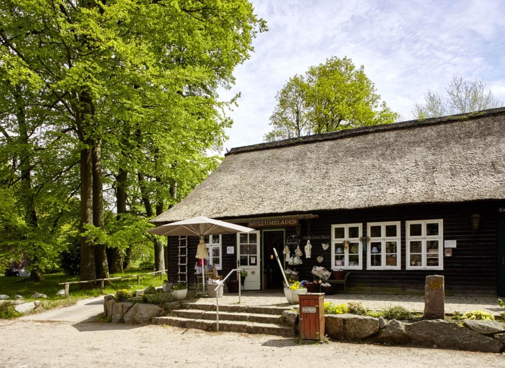 VNP museum shop in Wilsede | Photo: Christian Burmester