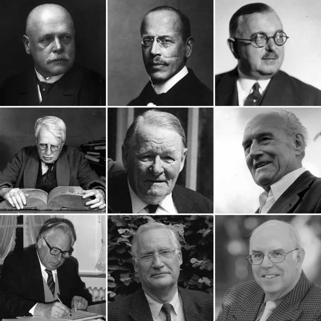 Chair persons of VNP 1909 - 2018