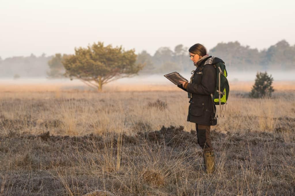 Schutzgebietsbetreuung: Brutvogelkartierung | Foto: Philipp Steiger