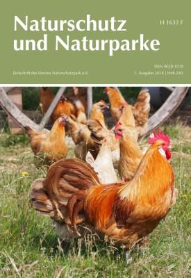 Cover Heft 240 Frühling 2018 Naturschutz und Naturparke