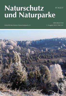 Cover Heft 242 Herbst/Winter 2018 Naturschutz und Naturparke