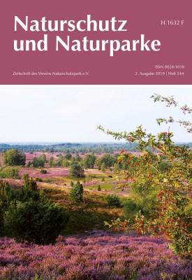Cover Heft 244 Sommer 2019 Naturschutz und Naturparke