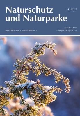 Cover Heft 245 Winter 2019 Naturschutz und Naturparke