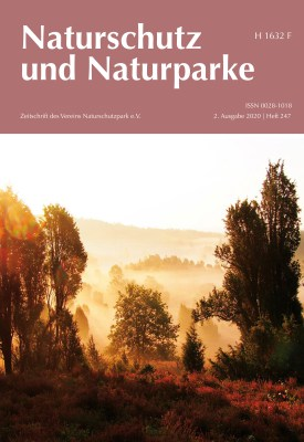 Cover Heft 247 Sommer 2020 Naturschutz und Naturparke