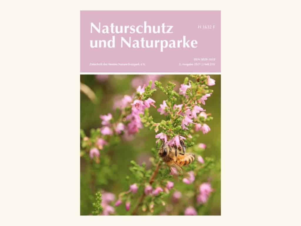 Cover Heft 250 Naturschutz und Naturparke Sommer 2021