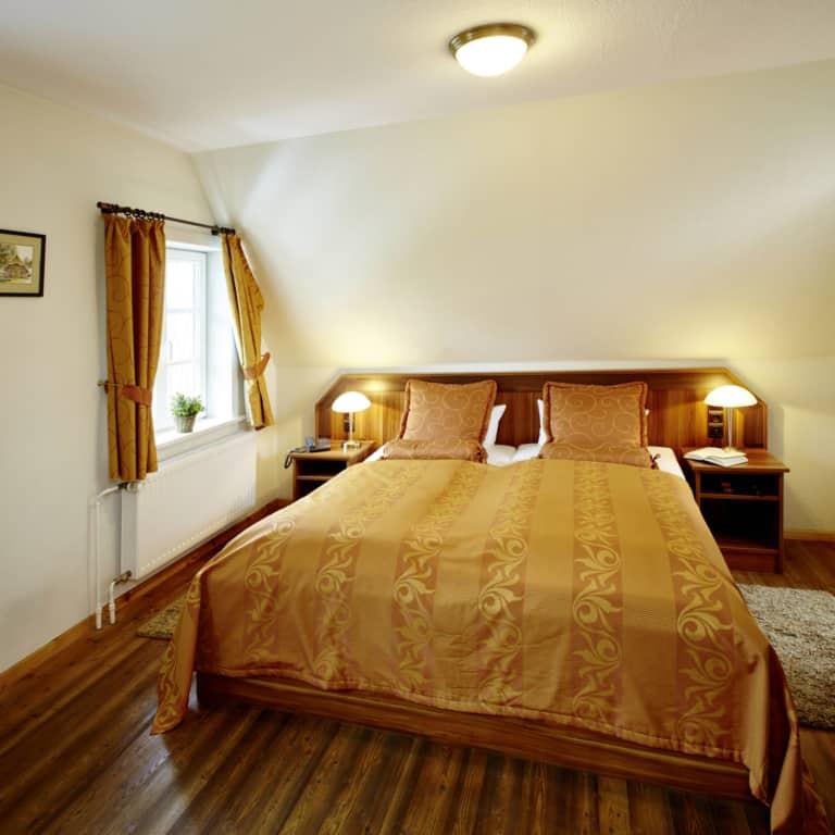 Hotel Hof Tütsberg: Double room | Photo: Christian Burmester