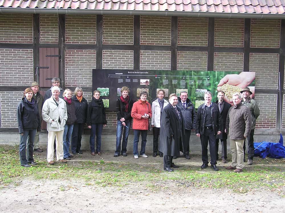 """Opening of the adventure trail """"Tütsberger Erlebnispunkte"""" in 2010   VNP Stiftung"""