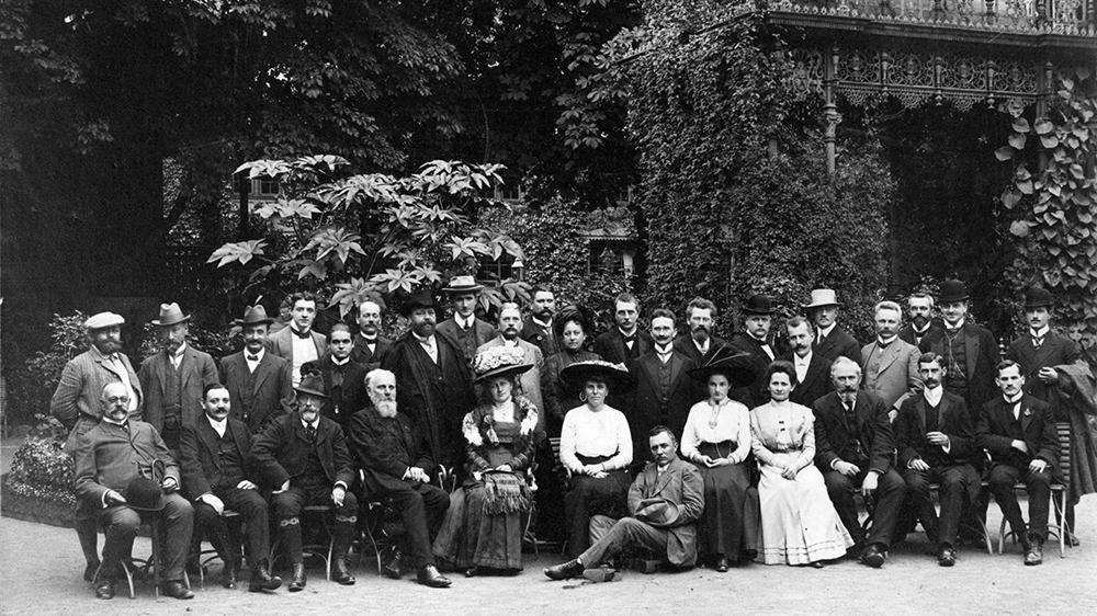 Erste Hauptversammlung des VNP im Jahr 1910 in Stuttgart