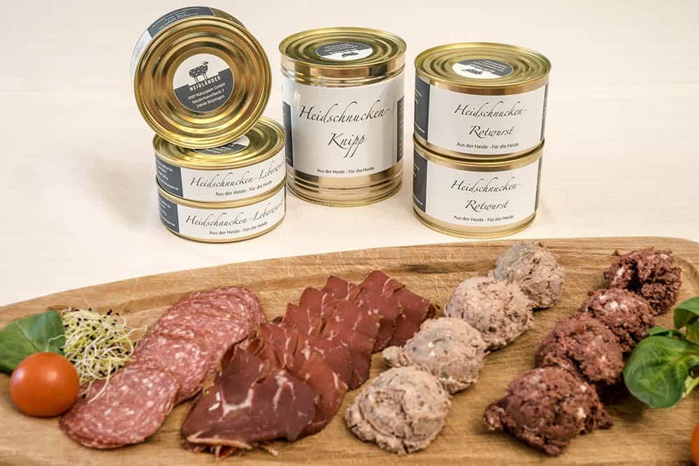 Heidländer products from the Heidschnucke | Photo: Markus Tiemann