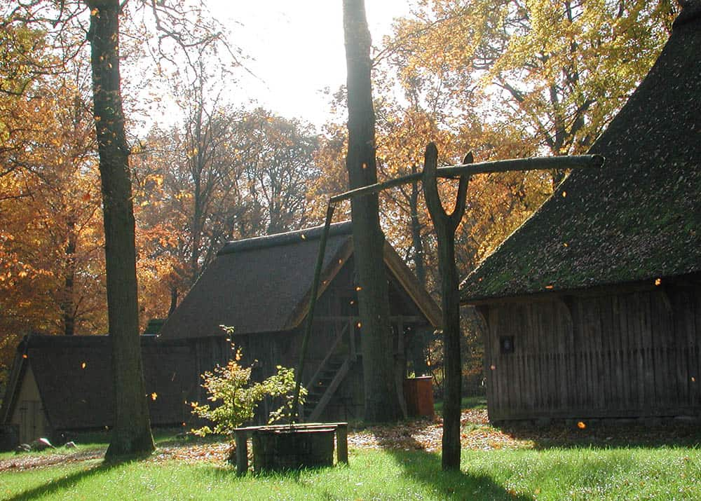 Autumn atmosphere on the Emhoff in Wilsede