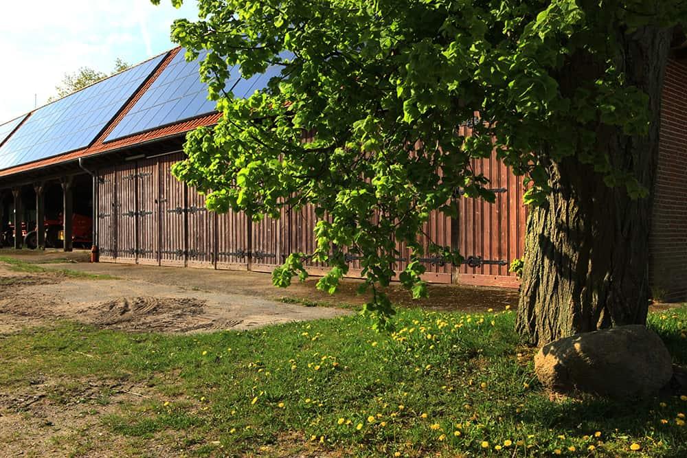 Hofgebäude auf dem Landschaftspflegehof Hof Tütsberg | VNP Stiftung