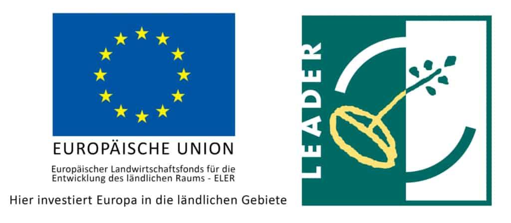 Logo LEADER und ELER Fonds