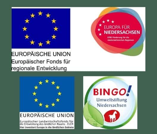 Förderprogramme Logos