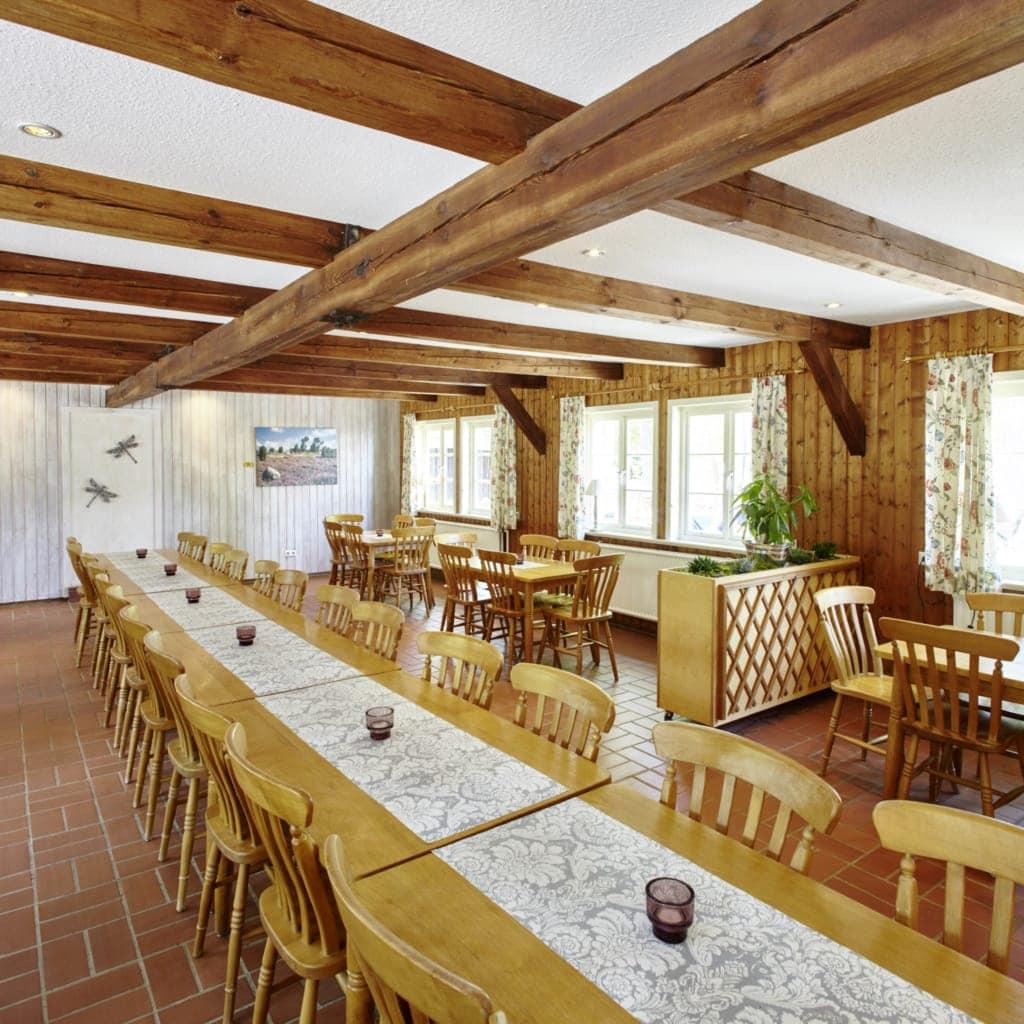 Milchhalle Wilsede: Innenansicht SB-Restaurant - auch für Gruppen geeignet | Foto: Burmester