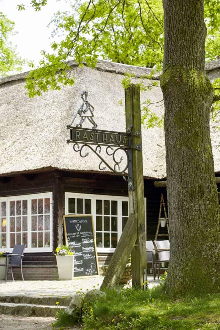 Rasthaus Milchhalle Wilsede mit Selbstbedienungsrestaurant | Foto: Christian Burmester