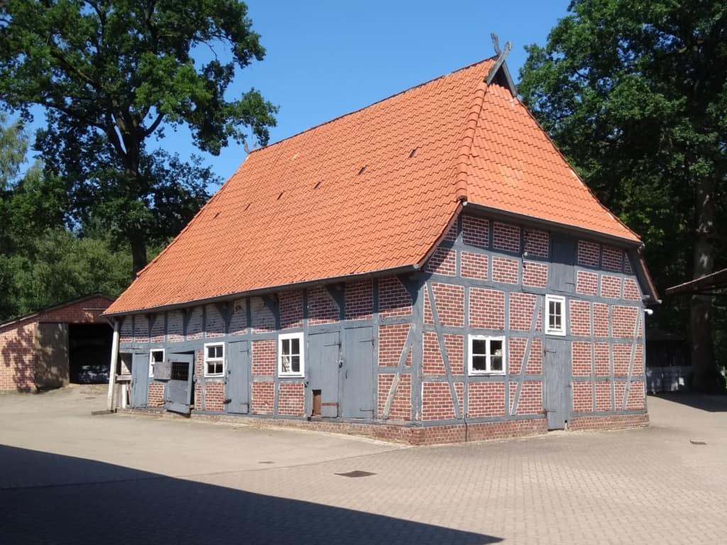 Denkmalgeschützte Scheune von 1798 in Gilmerdingen | VNP Stiftung