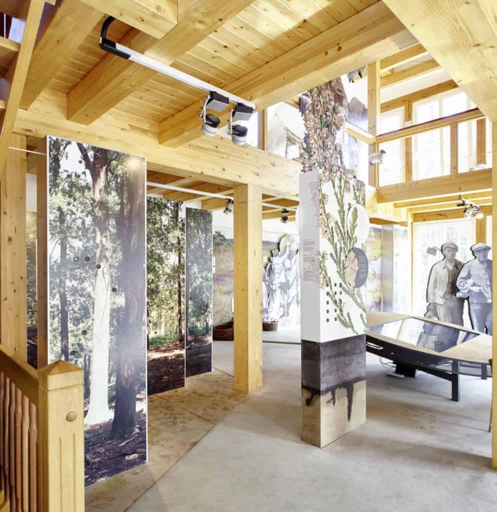 Heide-ErlebnisZentrum Undeloh exhibition ground floor | photo: Burmester