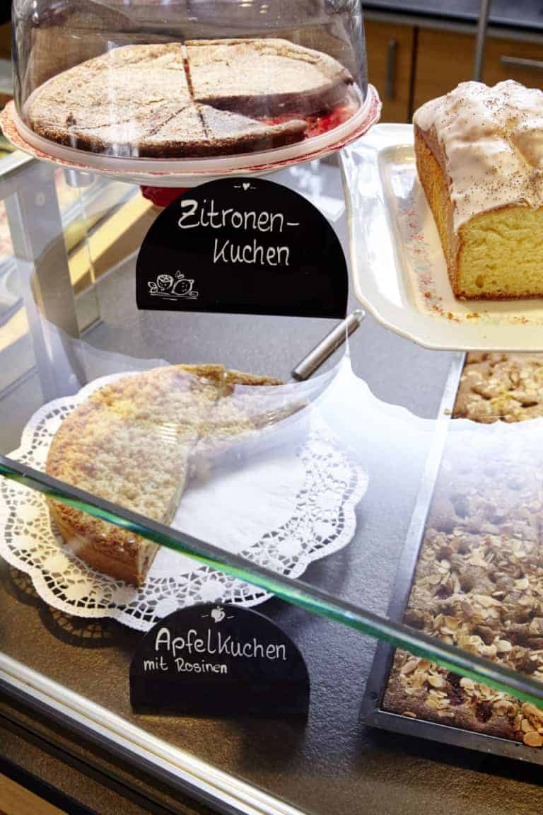Café cake selection | photo: Christian Burmester