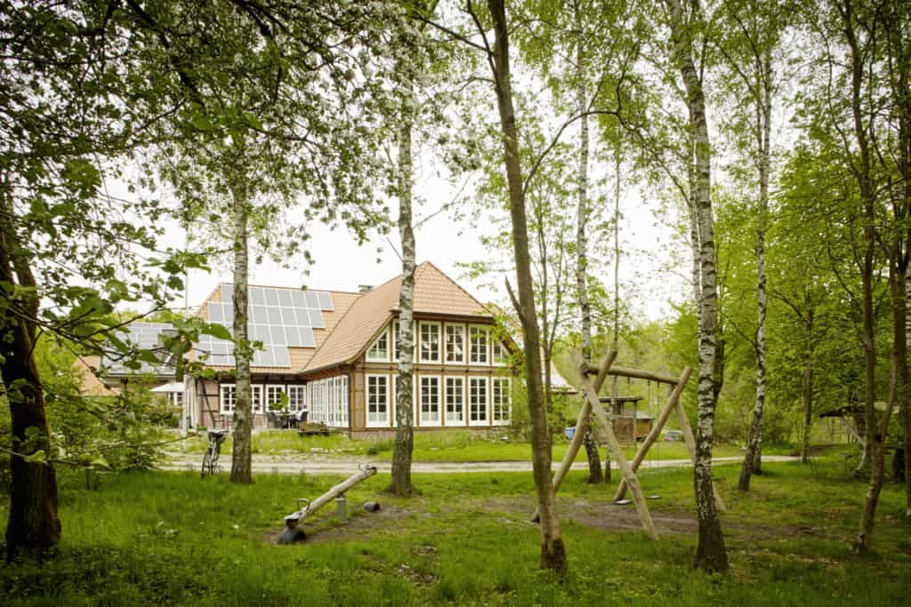 Spielplatz am Heide-ErlebnisZentrum in Undeloh | Foto: Christian Burmester