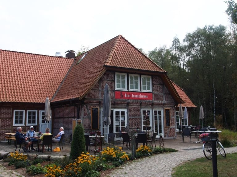 Terrace of the Heide-ErlebnisZentrum in Undeloh