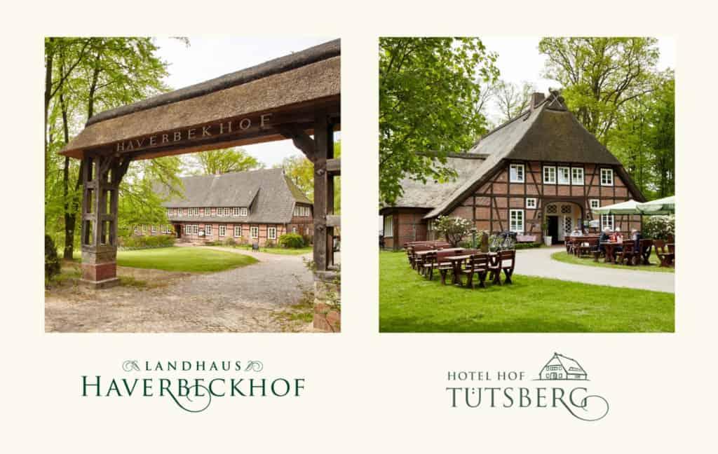 VNP-Hotels Landhaus Haverbeckhof und Hof Tütsberg | Fotos: Christian Burmester und M. Tiemann