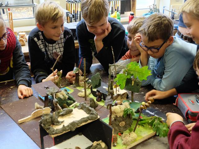 VNP Partnerschule GOBS Bispingen: Fledermausprojekt
