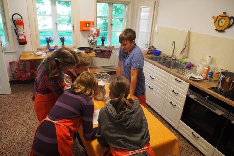 VNP School Farm: Cooking together | VNP Children's Academy
