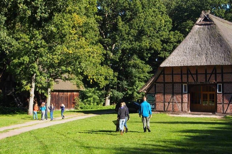 Farmyard of the VNP School Farm in Wilsede | VNP Children's Academy